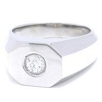 [飯能本店]NonBrandノンブランド0.33ctダイヤモンドリング指輪#17900PtプラチナDH43274【大黒屋質店出品】【】【送料無料】