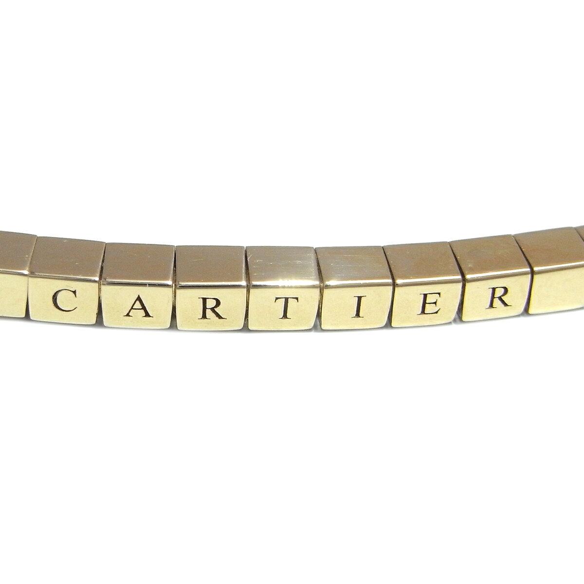 [銀座店] CARTIER カルティエ ラニエール ブレスレット 16cm ブレスレット 750イエローゴールド DH49949【大黒屋質店出品】 【店頭受取対応商品】