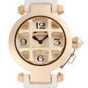 【銀座店】 カルティエ パシャ32 ドームグリッド ダイヤモンド レディース 腕時計 WJ11963 ...