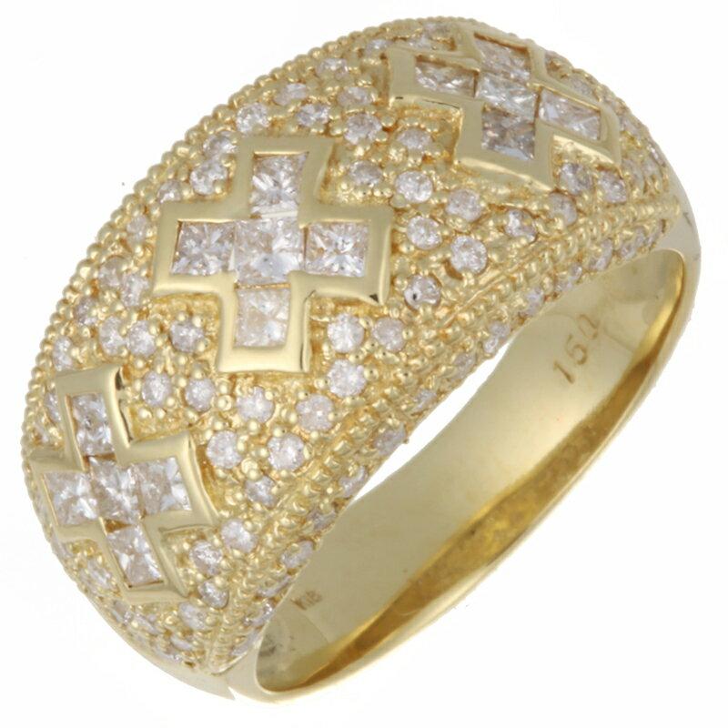 レディースジュエリー・アクセサリー, 指輪・リング  1.50ct K18YG K18 16 DH60247