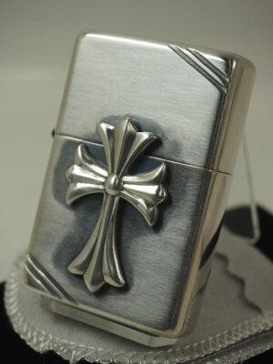 純銀#14クロスメタル