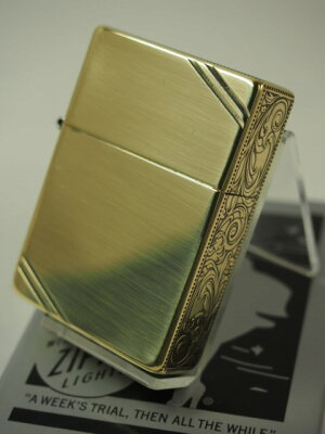 1935レプリカ【3面唐草】ダイアゴナルライン:真鍮古美