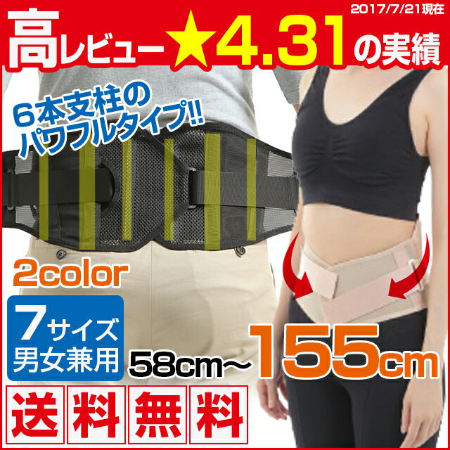 yamasaki パワフルタイプ腰用!腰痛ベルト