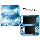 【お取寄せ】 ニンテンドー new3DSLL スキンシール DecalSkin [AS20/Electric Tribal] new3DS LL デコ シール デコシート スキン シート カバーシール new 3DSLL 送料無料 new 3DS LL