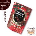 フェアトレード チョコレート 【クランベリーチョコレート】 第3世界ショップ粒チ
