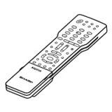 【メール便発送も可能】 SHARP純正パーツ テレビ用リモコン RRMCGB047WJND 0106380454(0106380314の代替品) AQUOS シャープ 【RCP】 05P27May16