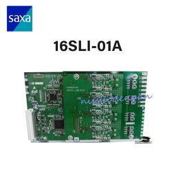 【中古】16SLI-01A (4YB1261-1017P011)SAXA/サクサ PT1000(Ult)16単体電話機ユニット(Croscore,IPOffice=L型)【ビジネスホン 業務用 電話機 本体】