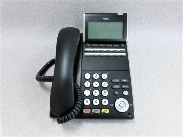 オフィス機器, ビジネスフォン DTL-12D-1D(BK)TEL NEC AspireX DT300 12
