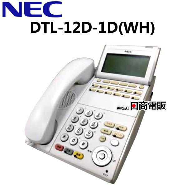 オフィス機器, ビジネスフォン DTL-12D-1D(WH)TEL NEC AspireX DT30012