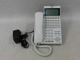 【中古】【アダプタ付】ITZ-24D-2D(WH)NEC Aspire UX24ボタンIP多機能電話機 【ビジネスホン 業務用 電話機 本体 子機】