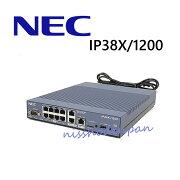 【中古】IP38X/1200NECギガアクセスVPNルーター(YAMAHARTX1200OEM品)NECAspireページングアダプタ【ビジネスホン業務用電話機本体】