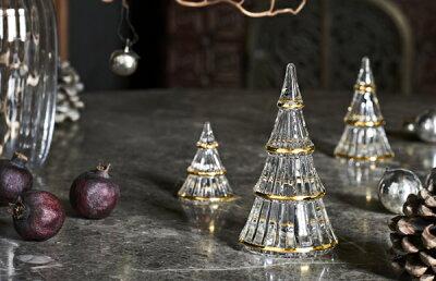 キラキラ光の屈折が美しい。ホルムガードのガラスミニチュアツリーが予約受付中