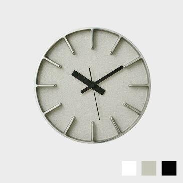 【100円offクーポン】安積伸・安積朋子 edge clockφ18(ホワイト) [ デザイナーズ ウォールクロック:AZUMI ]