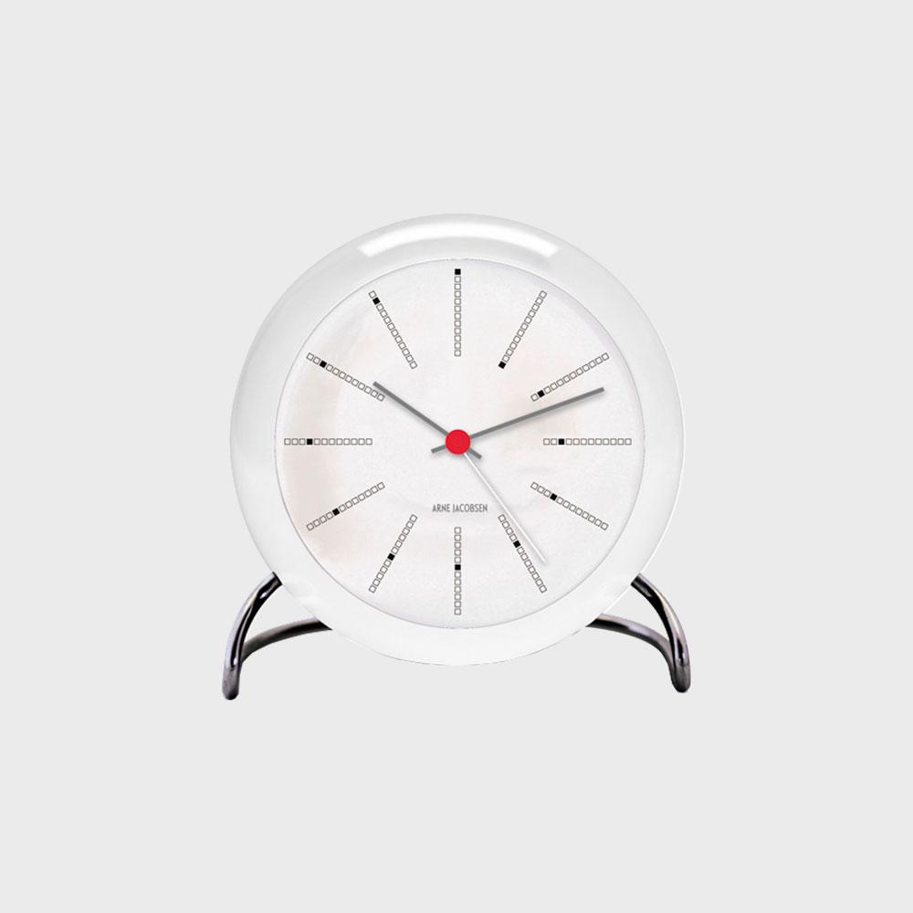 【クーポン有】ローゼンダール/アルネ ヤコブセン/置き時計・アラームクロック/BANKERS バンカーズ[北欧のおしゃれ 置き時計・アラームクロックはアルネ ヤコブセン]の写真