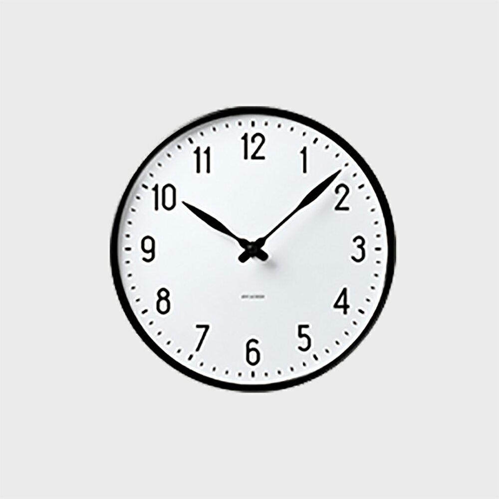 【クーポン有】ローゼンダール アルネ ヤコブセン 掛時計・壁掛け時計 STATION ステーション 290 [ デザイナーズ ウォールクロック 北欧 ]