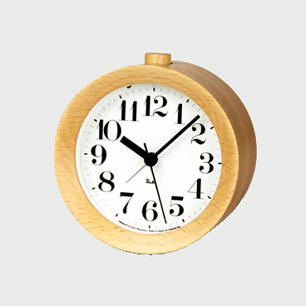 Lemnos/置き時計/RIKI Alarm Clock/ナチュラル WR09-15 NT【楽ギフ_包装選択】
