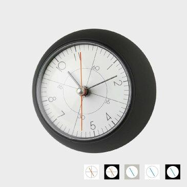 【100円offクーポン】五十嵐威暢/earth clock アースクロック/テーブルクロック 置時計/TIL16-10BK
