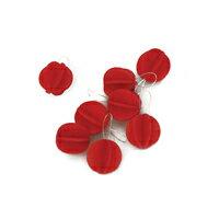 北欧lovi ロヴィ/Sツリー用 ボール型 クリスマス オーナメント1.7cm x 8個入/ライトレッド[北欧loviのボール型クリスマス オーナメント]【ゆうパケット対応可】[ゆうパケット 1/8]