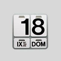 【1,000円(税抜)ご購入で100円OFFクーポン対象】DANESE ダネーゼ/ENZO MARI/万年カレンダー ...