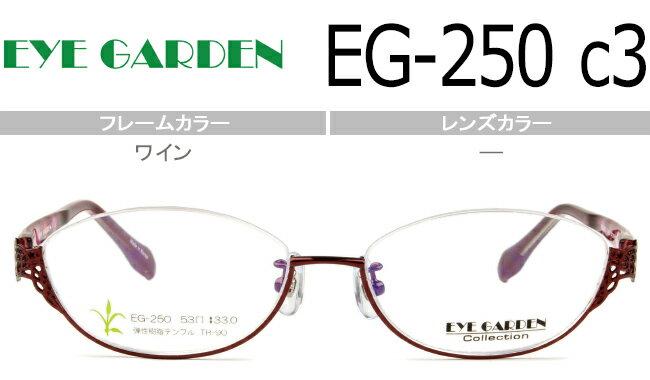 眼鏡・サングラス, 眼鏡  EYEGARDEN EG-250 c.3