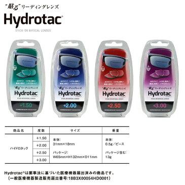 Hydrotac ハイドロタック NHK まちかど情報室 貼る老眼鏡 リーディングレンズ 度付き サングラス メガネ 水中メガネ ゴーグル 繰り返し クロネコDM便・宅配便選択可
