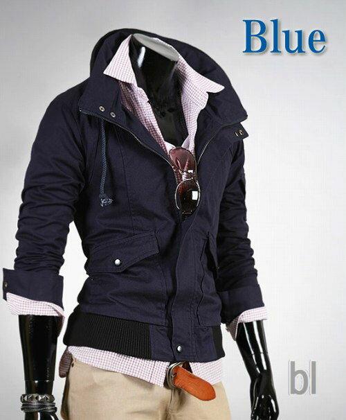 ジャケット ライダース コート トレーナー パーカー メンズ M L XL 4color