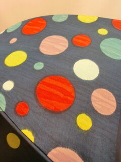 雨傘レディース長傘婦人甲州産ほぐし織り多色乱水玉柄ジャンプ雨傘ファッション雑貨傘女性用コーデ