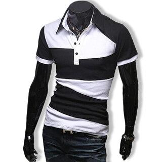 ポロシャツメンズTシャツカットソー半袖無地ゴルフウェアトップスカジュアルコーデ黒紺白春夏秋メンズファッション