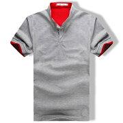 スキッパー ポロシャツ Tシャツ カットソー トップス カジュアル