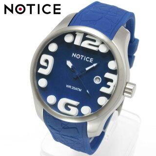 腕時計メンズNOTICEノーティス20気圧防水3Dインデックス腕時計メンズ腕時計父の日