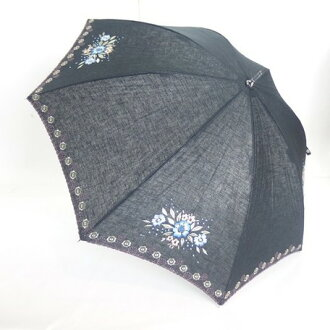 傘女士傘風雨無阻,投影片放映傘棉花麻多頭刺繡傘時尚飾品為婦女服裝譚抗 02P01Oct16