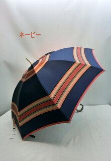 傘メンズ雨傘・長傘婦人甲州産先染め朱子格子軽量日本製金骨ジャンプ雨傘ファッション雑貨コーデ雨具雨男性用
