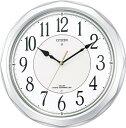 掛け時計 メンズ レディース 時計 シチズン電波掛時計 ネムリーナサニー 4MY642-019 シチズン