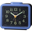 目覚まし時計 メンズ レディース 時計 リズム時計 クォーツ 目覚し時計 ジャプレ SR859 4RA859SR04