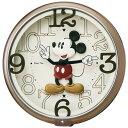 期間限定 掛け時計 メンズ レディース 時計 セイコー製 メロディ掛時計 ディズニー ミッキー FW576B ※fu