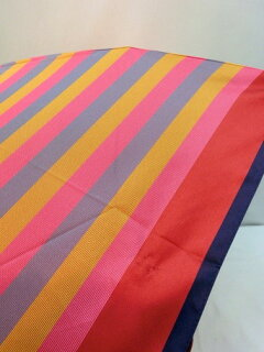折り畳み傘レディース傘日本製雨傘折畳傘婦人甲州産先染朱子格子丸ミニファッション雑貨小物折りたたみ傘女性用