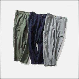 男式褲子底部加長型固體 drost 規範貨物褲千野忠男褲款式簡單時尚休閒長褲