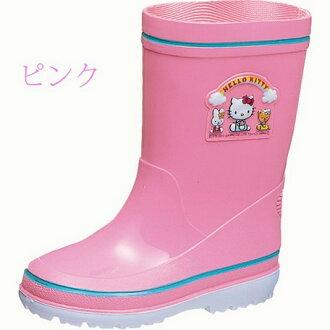 限期供應雨具小孩[日本製造]三麗鷗Hello Kitty小孩雷恩長筒靴高筒靴R281童裝洋貨 ※fu