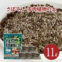 サボテン 多肉植物の土 11L (6L×1袋・1L×5袋) pH調整済み サボテンの土 多肉 用土 軽石 赤玉土 バーミキュライト ゼオライト 配合 根腐れ 水はけ 保