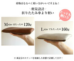 スリム携帯スリッパマットタイプ【袋付き・全7色】