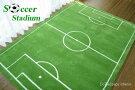 サッカーラグSoccerStadium140×200cm