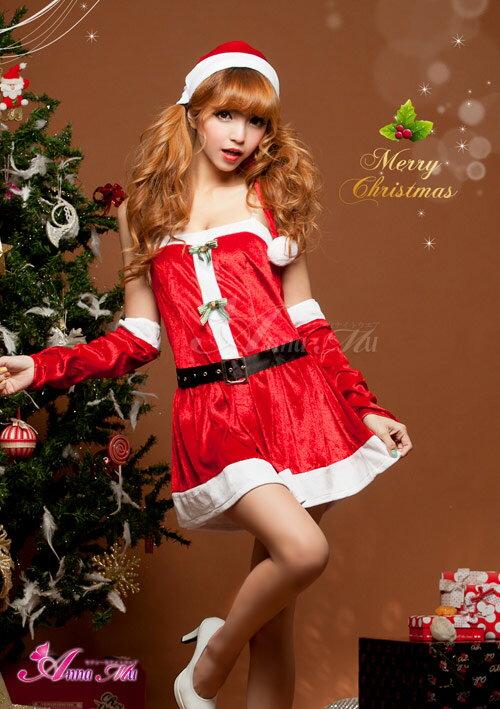 クリスマスサンタコスプレコスチューム衣装