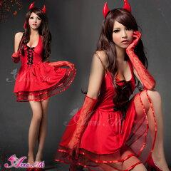 コスプレ デビル 悪魔 魔女 コスプレ衣装 ハロウィン コスチューム 衣装