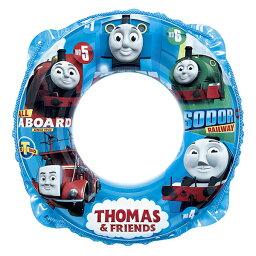 きかんしゃトーマス 50cm 浮輪 浮き輪 うきわ ウキワ 機関車トーマス キャラクター ロープ付き プールや海水浴に 男の子 子供用 子ども用 こども用 対象年齢 3歳 4歳 5歳