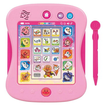 アンパンマン おもちゃ 男の子 女の子 1歳半 1歳6ヶ月 2歳 3歳 4歳 5歳 カラーパッドプラス ピンク カラーバージョン ひらがな 数字 英語 音楽 おべんきょう 知育玩具