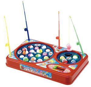 ぐる〜んぐる〜んさかなつりゲーム スピードチェンジレバーで難易度の調整が出来る 電池式の魚釣り おもちゃ・知育玩具