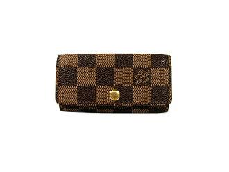 Louis Vuitton Damier 4 books for key holder key holder 4 N 62631 LOUIS VUITTON