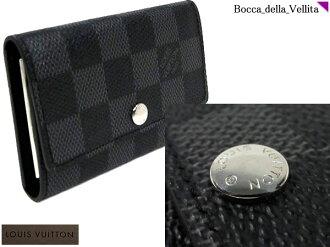☆ Damier graphite Louis Vuitton 6 key holder N62662 6