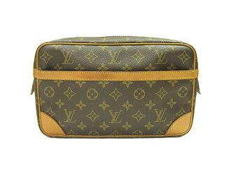 Louis Vuitton Monogram コンピニュー M51845 second back LOUIS VUITTON back Vuitton