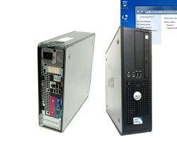貴重英語版パソコン英語WINDWS7インストール省スペースVCディスクトップパソコンIntelCore2Duo2.93Gヘルツ2Gメモリー160GハードDVD英語キーボード付属(オプション)DELL380【中古】